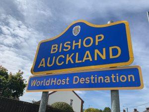 Bishop Auckland, WorldHost Destination signage