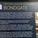 A picture of a Display board, Historic Fore Bondgate, Bishop Auckland