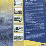 A picture of a Display board, Flatts Farm and Binchester