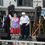 Performance on stage by Bishop Auckland Theatre Society