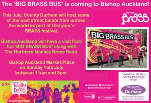 BRASS Bus is coming to Bishop Auckland