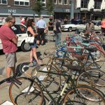 A selection of classic bicycles