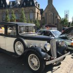 The classic Rolls Royce featuring in the Kynren Nightshow