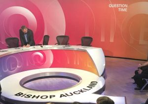 BBC Question Time set at Bishop Auckland