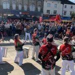 Performance by Jack Drum Arts 'Runaway Samba' at Bishop Celebrating Together