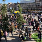 Overview of the Market Place at the Bishop Celebrating Together event
