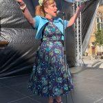 Yvonne Slater performing at Bishop Celebrating Together