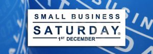 Small Business Saturday Banner, 1st December