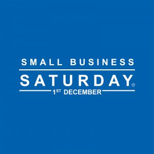Small Business Saturday Logo, 1st December
