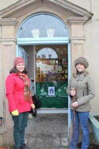 Day 16, Advent Window at Fifteas Vintage Tearooms