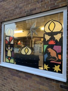 Day 8, Advent Window Display