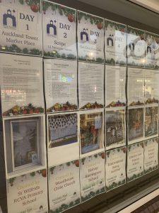 Advent Window Calendar in the Newgate Shopping Centre