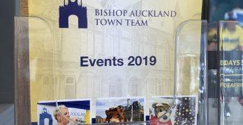 Bishop Auckland Town Team, Event 2019 display board