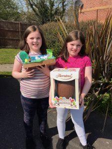 1st place - Elsie and Emily Stevenson from Toronto