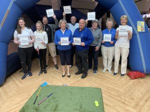 Group photograph at Bishop Auckland Golf Club; #LoveBishopAuckland