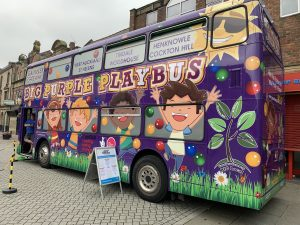 Gaunless Gateway Big Purple Play Bus