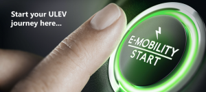 E-mobility Start button Banner; Start your ULEV Journey