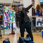 Entertainer Marko's at the Monster Saturday event in Newgate Shopping Centre