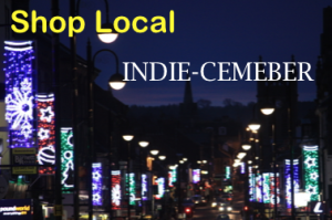 Shop Local INDIE-cember Logo