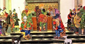Day 24; AlterNATIVITY Display inside St. Peter's Chapel, Auckland Castle
