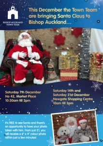 Santas Grotto Flyer, Saturday 7th, 14th and 21st December 2019