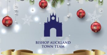 Bishop Auckland Town Team, Christmas 2019 Logo