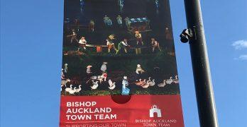Bishop auckland welcomes Kynren visitors banner