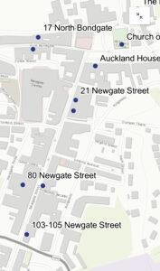 interactive map of BishopAuckland